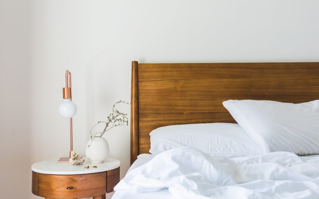 Blog header unmade bed